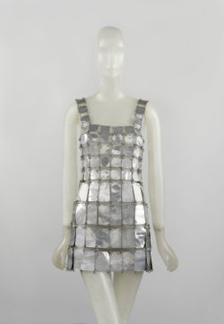 12.Paco Rabanne Metal Dress, 1967