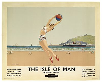 Isle of man poster british railways