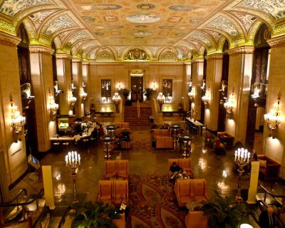 Palmer House hotel Chicago lobby