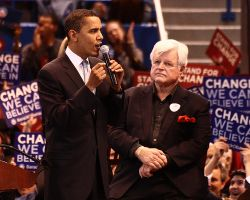 Barack obama ted kennedy