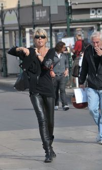 St Tropez smoker black leather FaceMePLS Flickr