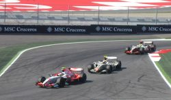 GP2 Race at the Spanish Grand Prix formula one