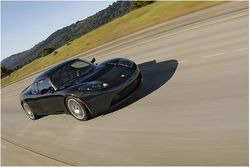 Tesla Roadster freeway squiddphoto Skylar Smith