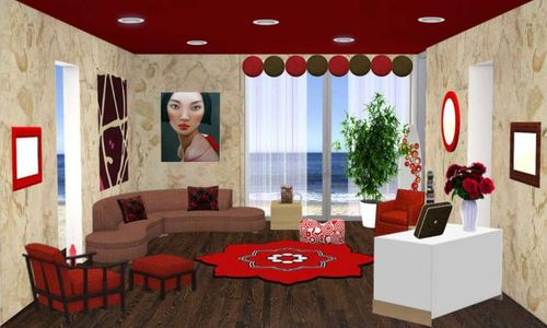 Pillows and Plates Digital Dollhouse