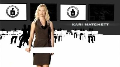 Covert Affairs credits Kari Matchett