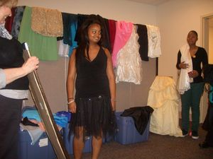 Renal Support Network kidney teen prom dress caravan TJX TJ Maxx donations black tulle