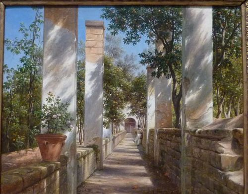 Thomas Fearnley Pergola with Oranges Art Institute of Chicago circa 1934