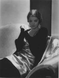 Myrna Loy by George Hurrell © Pancho Barnes Trust Estate Archive