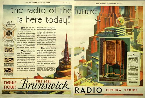 Brunswick Radio of the Future Is Here Today