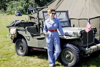 Solanah wwii jeep overalls