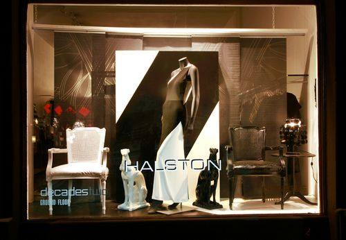 Decades Halston window