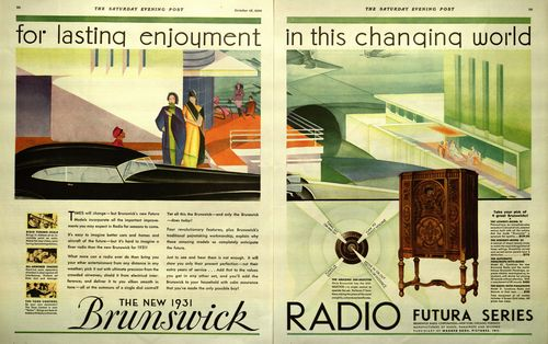 Brunswick Radio For Lasting Enjoyment In this Changing World