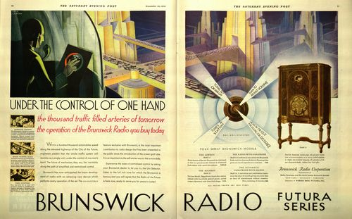 Brunswick Radio Under the Control of One Hand Highways of the Future