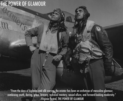 Tuskegee Airmen by Toni Frissell Aviator glamour